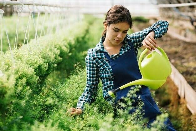 η καλή κηπουρός