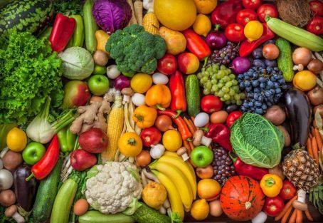 φρούτα και λαχανικά ανά μήνα